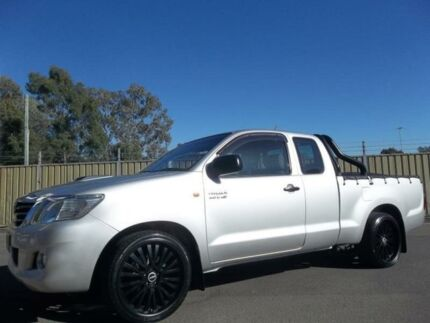 2011 Toyota Hilux KUN16R MY12 SR Silver 5 Speed Manual