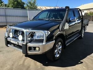 2012 Nissan Navara D40 MY12 ST-X (4x4) Black 7 Speed Automatic Dual Cab Pick-up Young Young Area Preview