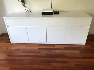 Large white Buffet  MUST GO ASAP only 3 years old North Bondi Eastern Suburbs Preview