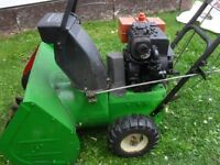 "older snow blower 8 hp 24""path"