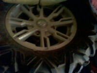 4 - Stock Tires and Wheels - 2012 Canam - Not used