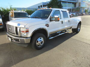 ** 2008 ** FORD ** F-350 ** LARIAT ** DUALLY ** 4WD ** DIESEL **