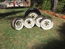Original EH Holden Rims x 5 with Spare Tyre Renmark Renmark Paringa Preview
