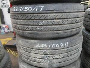 PAIR OF 225/50/17 MICHELLIN MXM4 USED SNOW TIRES