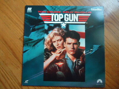Top Gun Laser Disc Movie Starring  Tom Cruise C  1986 109 Minutes Rated   Pg