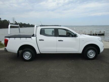 2015 Nissan Navara NP300 D23 DX (4x2) White 7 Speed Automatic Double Cab Utility Dapto Wollongong Area Preview