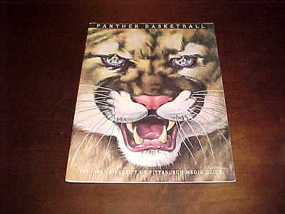 1988 Pitt Panthers Basketball Media Guide