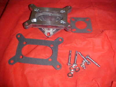 2 barrel to 1 barrel carburetor adapter,jeep,chevy and ford,for large holley etc