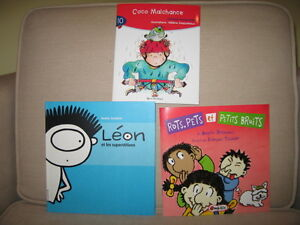 3 Assorted Children French Books (New) (C)