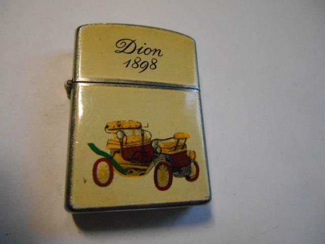 Vintage 1898 Dion Automobile Cigarette Lighter Made in Japan Will Work