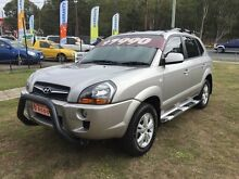 2009 Hyundai Tucson 08 Upgrade City SX Silver 5 Speed Manual Wagon Clontarf Redcliffe Area Preview