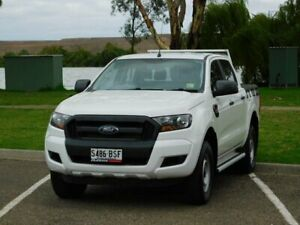 2015 Ford Ranger PX MkII XL Double Cab White 6 Speed Sports Automatic Utility Murray Bridge Murray Bridge Area Preview