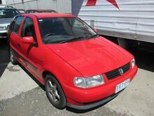 1998 Volkswagen Polo A03  5 Speed Manual Hatchback Tottenham Maribyrnong Area Preview