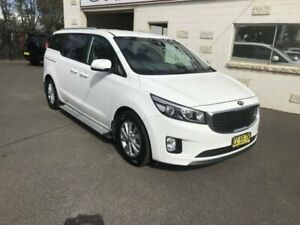 2015 Kia Carnival YP MY15 SI White 6 Speed Automatic Wagon