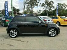 2011 Mini Cooper R56 LCI D Chilli Black 6 SPEED Manual Hatchback Southport Gold Coast City Preview