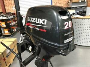 Suzuki 20hp 4 stroke tiller handle Davenport Bunbury Area Preview