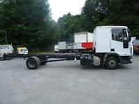 Iveco Eurocargo/7.5 ton Sleeper Chassis Cab/3 months warranty