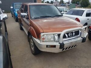 2005 Nissan Navara D22 ST-R (4x4) 5 Speed Manual Dual Cab Pick-up Laidley Lockyer Valley Preview