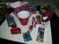 Great collection of spider-man items