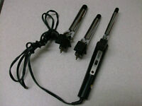 Curling Iron with 3 Iron Sizes