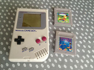 Nintendo Game Boy original + 2 jeux