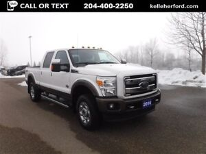 2016 Ford F-350 CrewCab King Ranch 6.7L Diesel with Moonroof