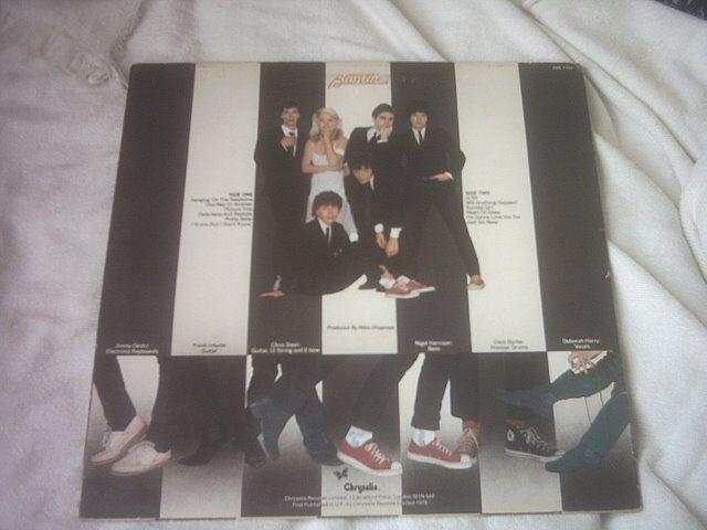 Vinyl LP Paraliel Lines – Blondie Chrysails CDL1192 Stereo 1978