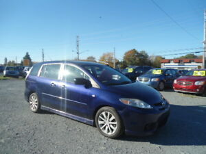 2007 mazda 5 7 passenger minivan only 2700$ NEW TIRES