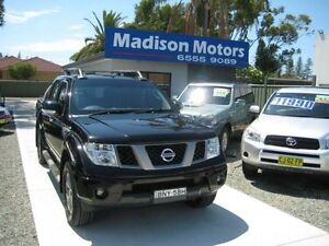 2009 Nissan Navara D40 Titanium Edition (4x4) Black 6 Speed Manual Dual Cab Pick-up Tuncurry Great Lakes Area Preview