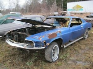 Shell vin part ford mustang fastback mach one 1970 project!!!!