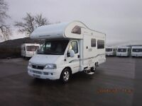 2005 BESSACAR E465 4 BERTH MOTORHOME WITH REAR U-SHAPED LOUNGE ANDERSON MOTORHOME SALES