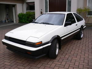 Looking for a 1985-1987 Toyota Corolla AE86