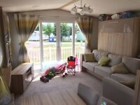 AMAZING ALMOST NEW 3 BED STATIC CARAVAN FOR SALE ON CHERRY TREE NR GREAT YARMOUTH NORFOLK