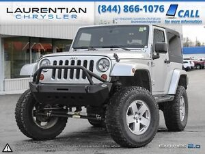2012 Jeep Wrangler SAHARA-6SPEED STANDARD TRANS+AS IS
