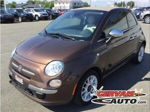 Fiat 500C Convertible Lounge Cuir MAGS 2014