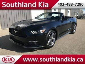 2017 Ford Mustang CONVERTIBLE w/Leather