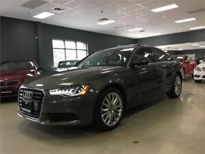 2012 Audi A6 3.0T Premium Plus*NAV*BACK-UP CAM*BLIND SPOT*