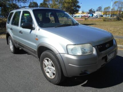 2004 Ford Escape ZB XLT Silver 4 Speed Automatic Wagon Underwood Logan Area Preview