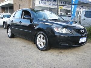 2009 Mazda 3 BK MY08 Neo Sport Black 5 Speed Manual Hatchback Wangara Wanneroo Area Preview