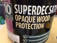 Sadoline timber treatment 2x 5 litre tins California gold