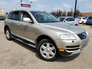 2004 Volkswagen Touareg V8 AWD Fully Loaded 1 year warr. w.tires