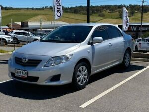 2009 Toyota Corolla ZRE152R Ascent Silver 4 Speed Automatic Sedan Littlehampton Mount Barker Area Preview