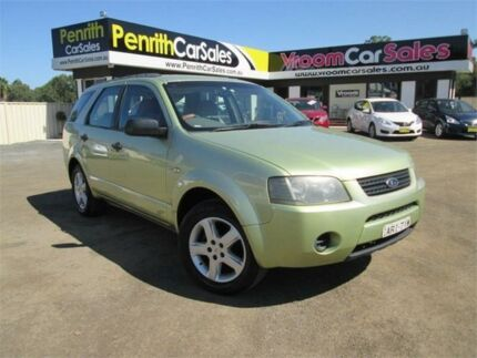 2004 Ford Territory SX TX Green Sports Automatic Wagon Penrith Penrith Area Preview