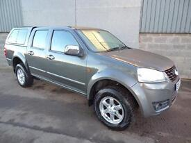Great Wall Steed TD S double cab 4WD pick up 2012 62 reg