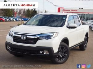 2019 Honda Ridgeline Sport. Eco. Sunroof. Heated Power Seats