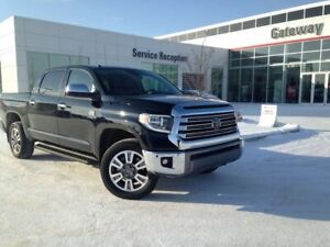 2018 Toyota Tundra Platinum Crew Running Boards, Leather, Heated