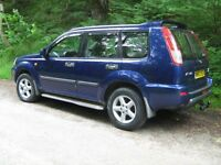 NISSAN X-TRAIL SPORT 4X4 DIESEL ESTATE. GREAT CONDITION. VERY RELIABLE. SELLING DUE TO TRADING UP