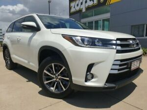 2017 Toyota Kluger GSU50R GXL 2WD White 8 Speed Sports Automatic Wagon Garbutt Townsville City Preview