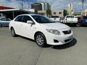 2007 Toyota Corolla ZRE152R Ascent White 4 Speed Automatic Sedan Southport Gold Coast City Preview