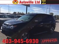 2007 ACURA MDX TECH PACKAGE LEATHER ROOF NAVI EVERYONE APPROVED